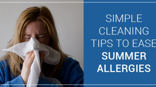 Simple Cleaning Tips to Ease Summer Allergies – Induct Clean