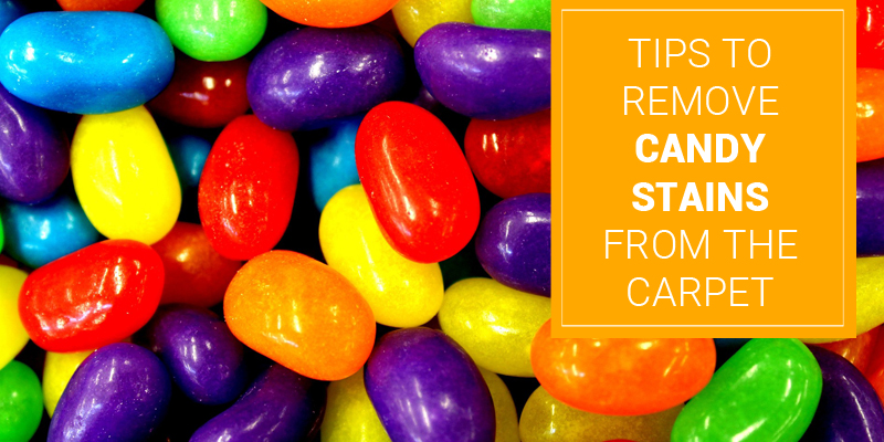 How to Remove Candy Stains from the carpet? – Carpet Cleaning tips by Induct Clean