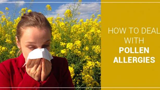 How to deal with pollen allergies?