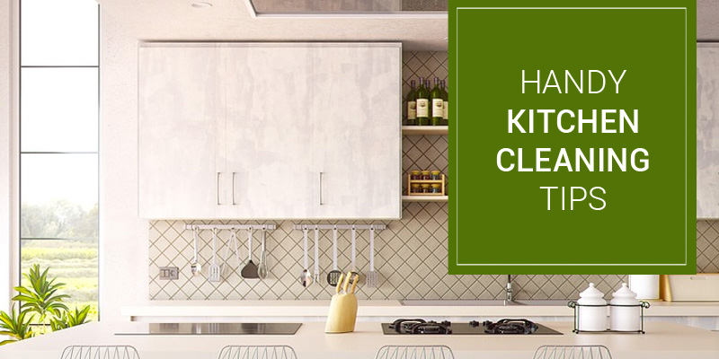 Handy Tips for a Sparkly Clean Kitchen